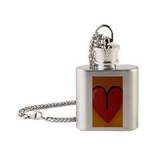 AeriesHeart Flask Necklace