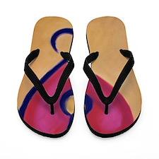 LeoHeart Flip Flops