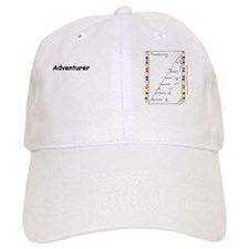 7-AdventurarchyWideText Baseball Cap