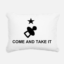 Come and take it large_p Rectangular Canvas Pillow