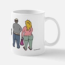 Kiss my plumbers crack Mug