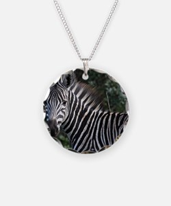 young zebra note Necklace