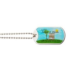 A-at-W-000-license-plate-111 Dog Tags