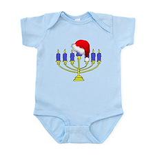 Christmas Menorah Infant Bodysuit