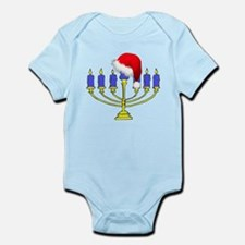 Christmas Menorah Infant Bodysuit