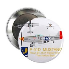 """Mustang_Yeager_Front_Dk 2.25"""" Button"""