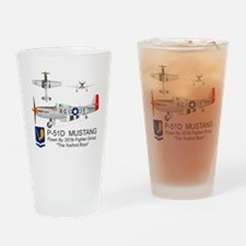 Mustang_Yeager_Front Drinking Glass
