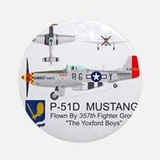 Mustang_Yeager_Front Round Ornament