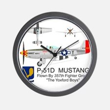 Mustang_Yeager_Front Wall Clock