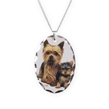 Yorkie Terrier  Pup Necklace