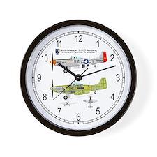 Mustang_Yeager_125_Clock Wall Clock