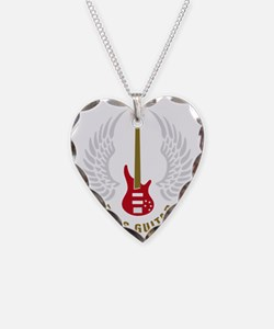 bass guitar Necklace