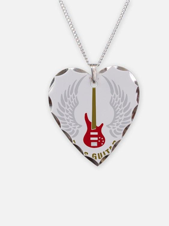 bass guitar Necklace