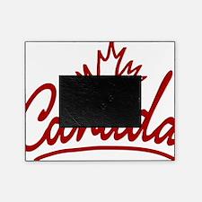 Canada Leaf Script W Picture Frame