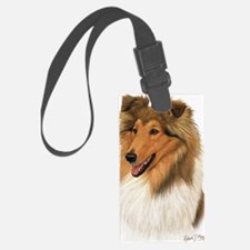 Rough Collie 2 copy Luggage Tag