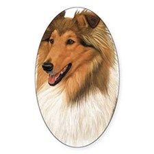 Rough Collie 2 copy Decal