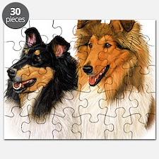 Double Rough Collie Puzzle