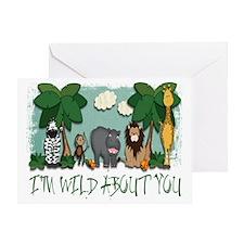 WildAboutU Greeting Card