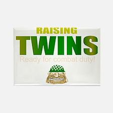 Twins combat duty Rectangle Magnet