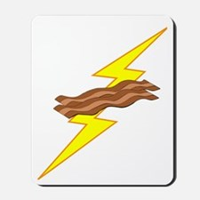 Bacon Power Dark Mousepad