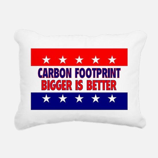 RectangleStickerCarbonFo Rectangular Canvas Pillow