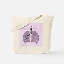 violetlungs2 Tote Bag