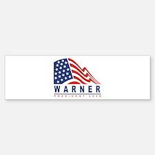 Mark Warner - President 2008 Bumper Bumper Bumper Sticker