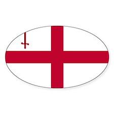 ST English Flag - City of London Fl Decal