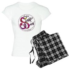 ThdressingSuperWomanLogoblk Pajamas
