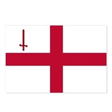 ST English Flag - City of Postcards (Package of 8)