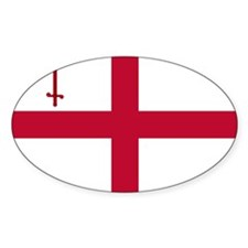 ST English Flag - City of London Fl Decal