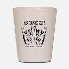 wwdd copy Shot Glass