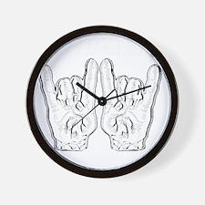 wwdd inverted copy Wall Clock