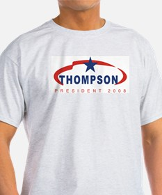 Tommy Thompson for President  Ash Grey T-Shirt