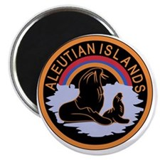 Aleutian Islands Command Magnet