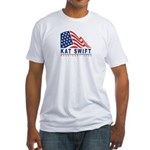 Kat Swift - President 2008 Fitted T-Shirt