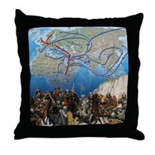 map1 Throw Pillow