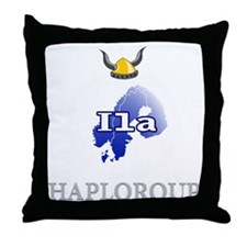 center_black1 Throw Pillow