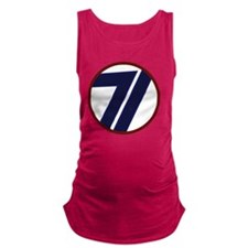 71st Infantry Division Maternity Tank Top