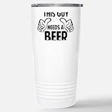 thisGuyBEER1A Travel Mug