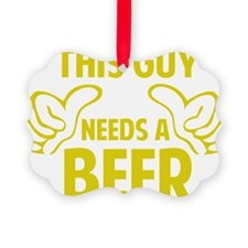 thisGuyBEER1C Ornament