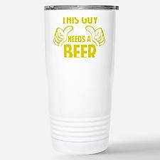 thisGuyBEER1C Travel Mug