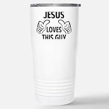 thisGuyJESUS1A Thermos Mug