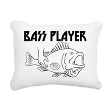 BassPlayerlight Rectangular Canvas Pillow