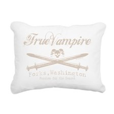 true vampire stone color Rectangular Canvas Pillow