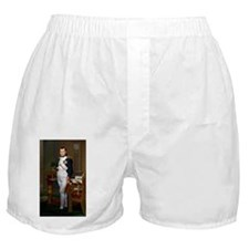 Napoleon in His Study Boxer Shorts