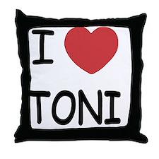 TONI Throw Pillow