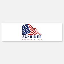 Joe Schriner - President 2008 Bumper Bumper Bumper Sticker