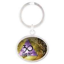 ODAAT30 Oval Keychain
