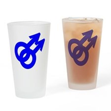 2male Drinking Glass